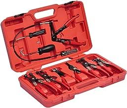 VidaXL 210046 Kit de pinces à collier et tournevis 10 pièces