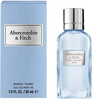 Abercrombie & Fitch First Instinct Blue 30ml Mujeres - Eau de parfum (Salted Sea Air Jasmine Vanilla Sandalwood Aeroso...