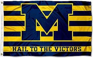 Michigan Wolverines UM University Large College Flag