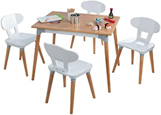 KidKraft Mitten av århundradet småbarn bord och 4 stolar