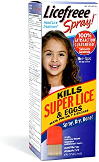 Licefreee Spray Head Lice Spray - Previous Version - Lice Treatment for Kids and Adults - Kills Lice and Eggs on Contact -...
