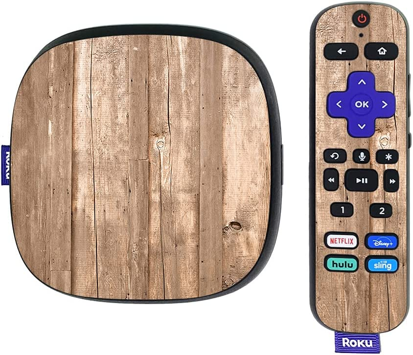 MightySkins Skin Compatible with Roku Ultra HDR 4K Streaming Media Player (2020) - On The Fence | Protective, Durable, and Unique Vinyl Decal wrap Cover | Easy to Apply | Made in The USA