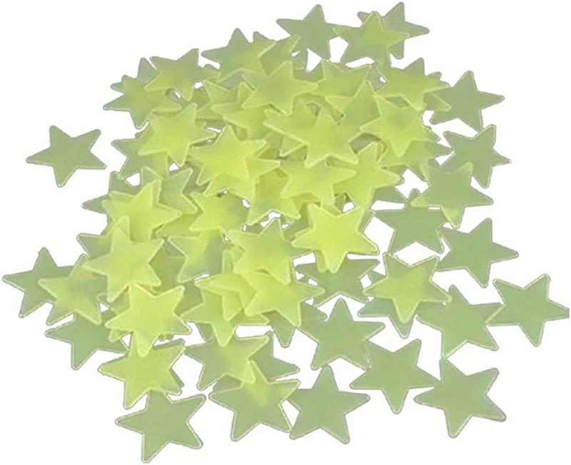 Ultra Brighter Glow In The Dark Stars For Kids Special Deal 100 Count Amazing For Children And Toddler Decorations Wall Stickers For Boys Room