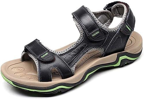 Tanxianlu été Hommes Plage Sandales Hommes Occasionnels Sandales Hommes Chaussures Plate-Forme antidérapante ApparteHommests Hommes Sandales
