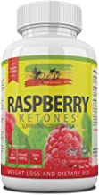 Raspberry Ketones 1000mg Capsules Strong Caffeine Free Diet Pills for Weight Loss Contains Raspberries Fruit Extract That May Help Reduce Appetite Body Fat Increase Metabolism Made in The UK Estimated Price : £ 12,99