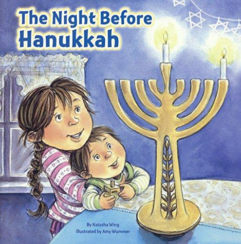 The Night Before Hanukkah (Turtleback School & Library Binding Edition)