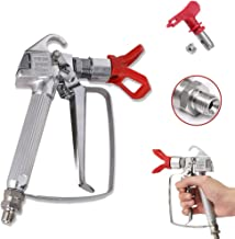 Tutor Auto 3600 PSI High Pressure Airless Paint Spray Gun Ceiling Sprayer with 517 Spray Nozzle Tool