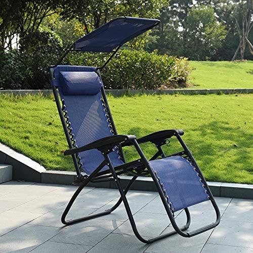 Tumbonas Plegables Exterior Gravedad Zero, Tumbona de jardín, Resistente al Agua, Reclinable Sillas Universal para Jardín, Terraza, Camping, Playa