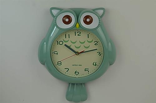 discount SkyMall Adorable sale Owl sale Shaped Wall Décor Clock online sale