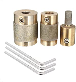 KANJJ-YU Power Lot de 3 têtes de meuleuse 2,5 cm 1,9 cm 1,9 cm 1,9 cm 1,9 cm 1,6 cm 1,4 cm 1,4 cm 1,3 cm