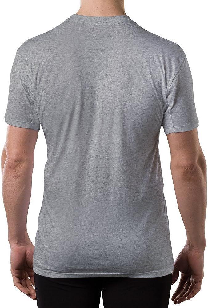 Thompson Tee - Camiseta interior antisudor con refuerzo antimicrobiano en las axilas - Corte regular - Cuello redondo