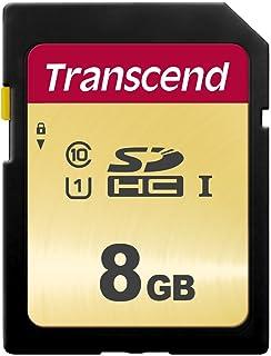 Transcend 8GB SDXC/SDHC 500S Speicherkarte TS8GSDC500S (umweltfreundliche Verpackung)
