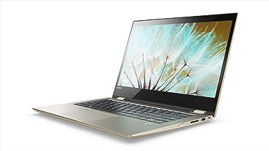 Lenovo Yoga 520 Intel Core i3 8th Gen 14-inch Full HD 2-in-1 Touchscreen Laptop (4GB RAM/1TB HDD/Windows 10 Home/MS Office H&S 2016/ Gold Metallic /1.7kg), 81C800N6IN