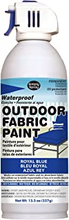 Deval Products OF0046008M Outdoor Spray Fabric Paint, 13.3 oz, Royal Blue