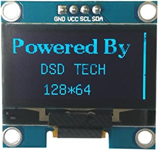 DSD TECH 1.3 INCH OLED I2C Screen with 4 PIN Supports U8glib for Arduino