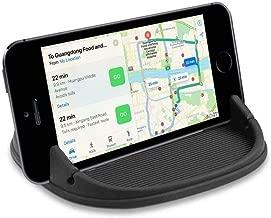 Car Phone Mount,Cell Phone Car Dashboard Holder Cradle Dock Silicone Pad Non-Slip Dash Mat for iPhone X/8/8 plus/7/7plus/6s Plus,Samsung Galaxy S8 S7 S6 S5, LG, Huawei,Google Nexus