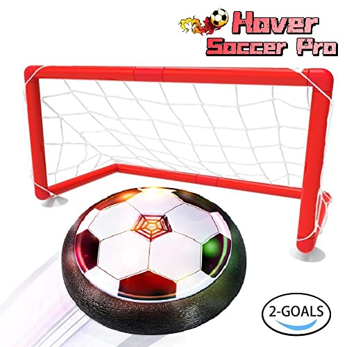 LOFEE Indoor Sport For 3 12 Year Old Kids Hover Soccer Ball Set With