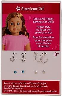 American Girl Truly Me Stars & Hoops Earrings Set for 18