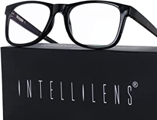 Intellilens® Premium Blue Cut Zero Power Navigator Spectacles with Anti-glare for Eye Protection from UV by Computer Table...