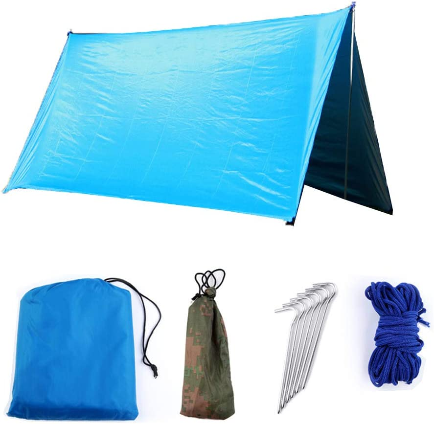 Tienda de campaña Lona Protectora, Lona de Camping Anti UV ...