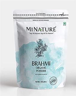 USDA Organic Brahmi Powder (Bacopa Monnieri) - 227 g / 8 OZ / 1/2 lb | Enhances Learning Capacity | Promotes Hair Growth