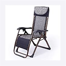 Footstool Ink Blue No Cushion Folding Chair Lunch Break Lounge Chair Sleeping Chair Leisure Lazy Sofa Chairs for The Elderly Carl Artbay Home