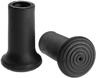 Komperdell Rubber Regular Walk Tip for Trekking Pole, Black