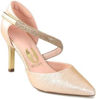 d5ea13f84d Moda - Dourado - Calçados   Feminino na Amazon.com.br