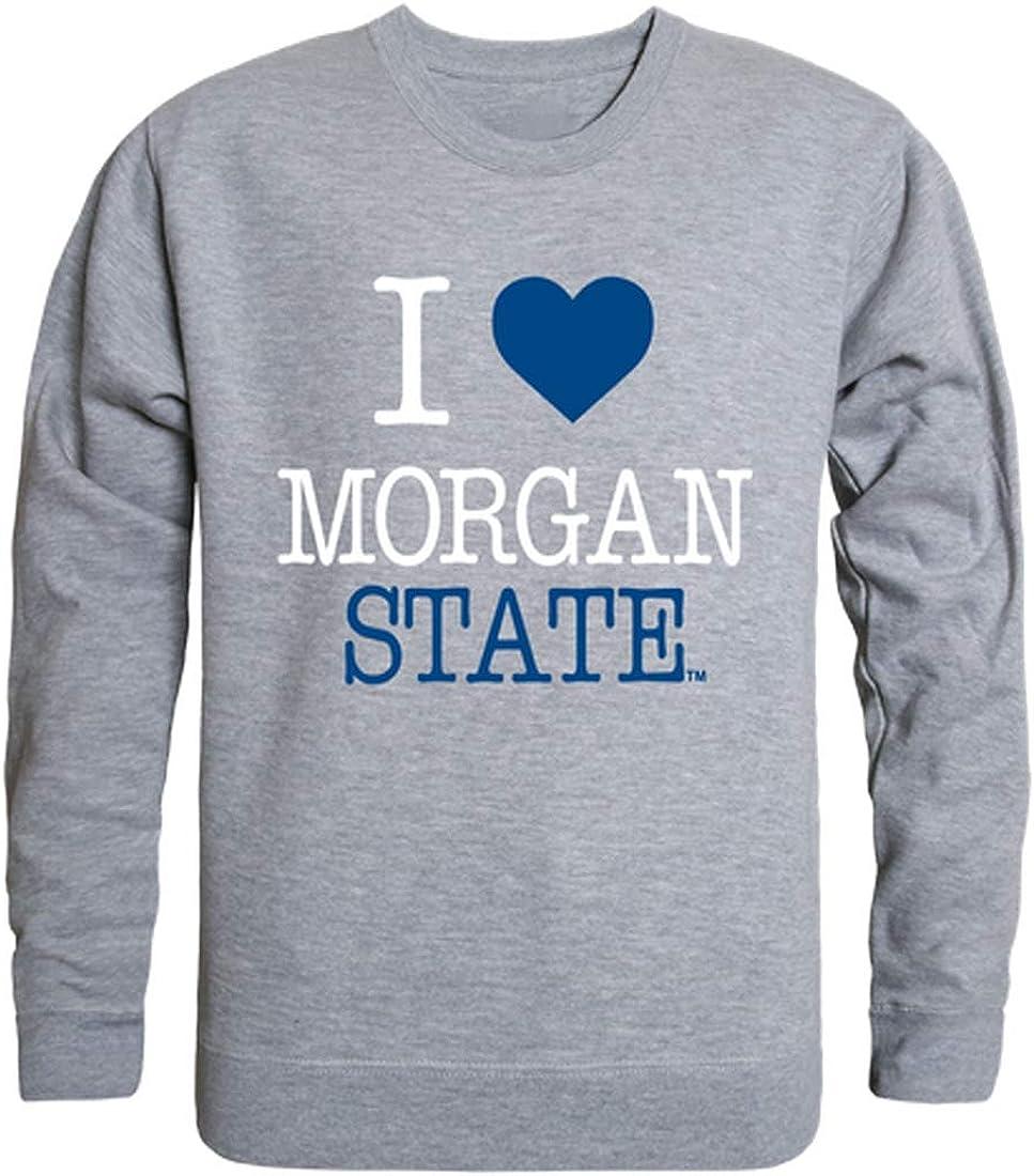 Morgan State Bears NCAA College Crewneck I Overseas parallel import regular item Fleece Sweatshir Nashville-Davidson Mall Love