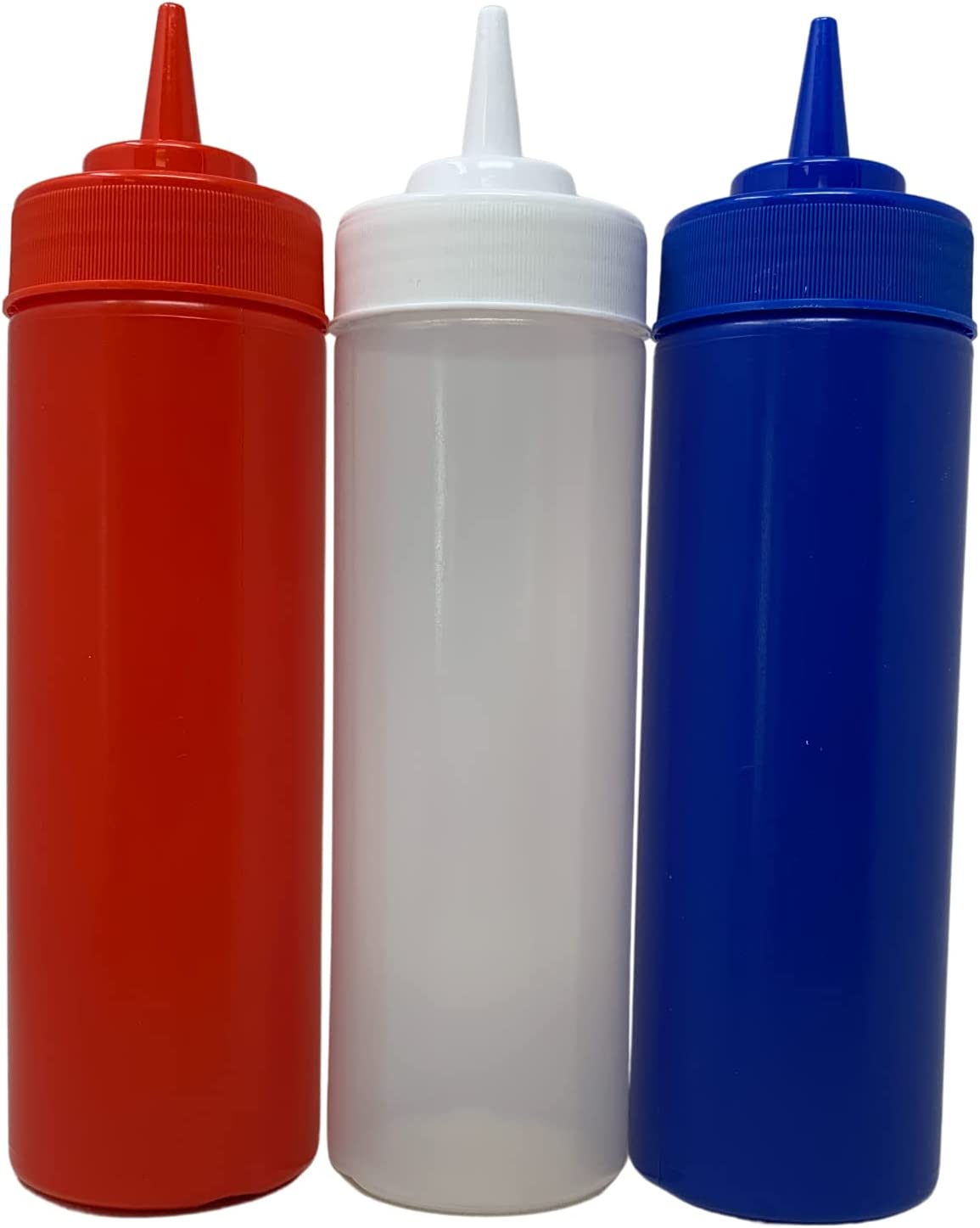 Squeeze Bottles in Patriotic Red White Condi for Colors Many popular brands and Recommendation Blue
