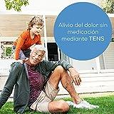 Beurer EM 29 TENS para la rodilla y el codo, dispositivo de corriente de estimulación 2 en 1 para el alivio del dolor sin medicamentos, con temporizador, 20 niveles de intensidad, dispositivo médico