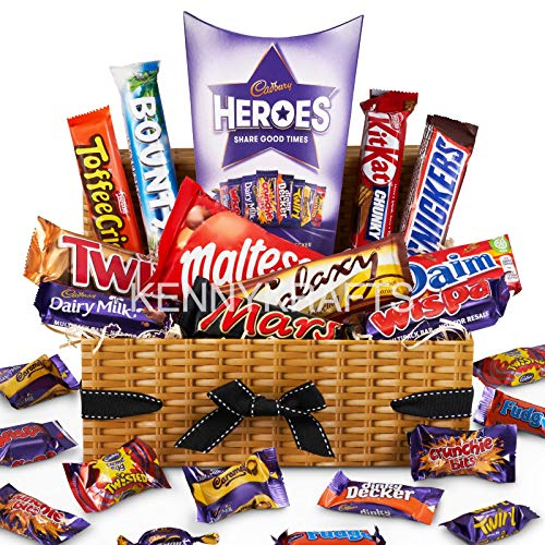 Cadbury Chocolate Lover Hamper Gift Box - Selection of Your Favourite Chocolate Bars