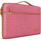DOMISO Tasche Hülle für 15.6 Zoll Notebook Laptop Sleeve Hülle Wasserdicht Laptophülle Schutzhülle für Lenovo IdeaPad S510,ThinkPad E575/HP Pavilion x360/LG,Rosa
