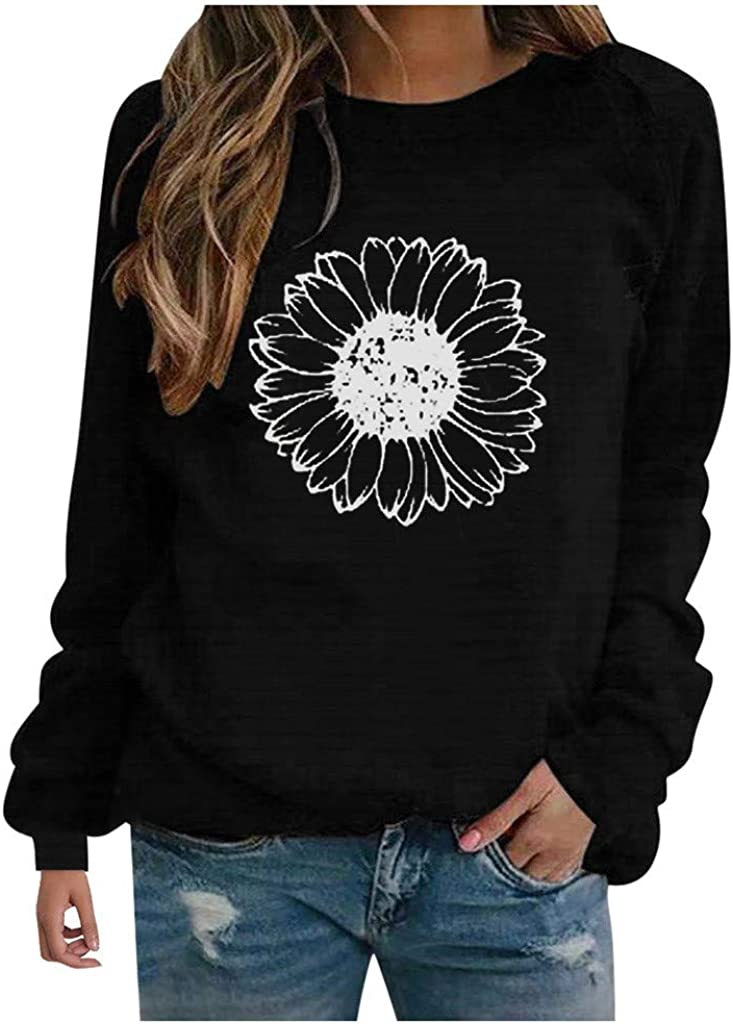 F_topbu Sweatshirts for Women Round-Neck Top Shirt In a popularity Sleeve OFFicial site Long