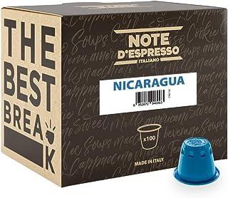 comprar comparacion Note D'Espresso - Cápsulas de café de Nicaragua exclusivamente compatibles con cafeteras Nespresso*, 5,6g (caja de 100 un...
