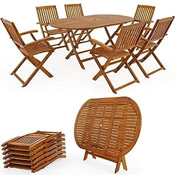 ⋙Prix Ensemble table et chaises bois salon de jardin ...
