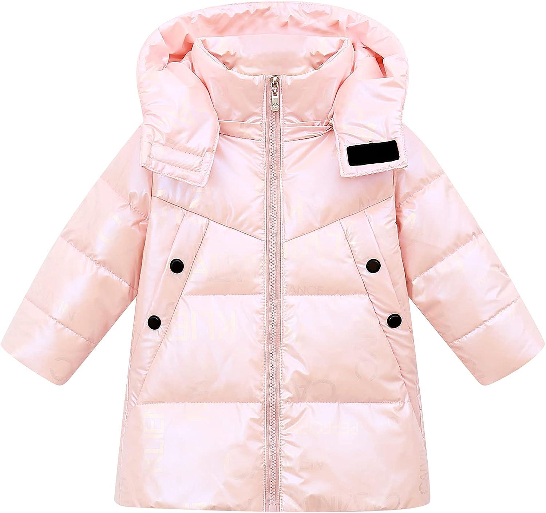 Happy Cherry kids Winter Down Coat No-wash Waterproof Hooded Outwear 3-8 Years