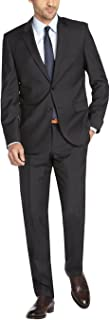 DTI GV Executive Men's Suit Two Button Modern Fit 2 Piece Jacket and Pants