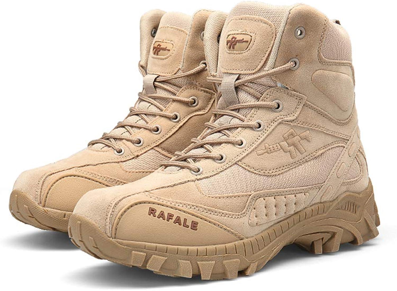 Giles Jones Men Hiking Climbing shoes Desert Combat Ankle Boots Laceup Climbing Boots