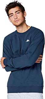 Kappa VAUKE Sweatshirt I Unisex Cotton Pullover I Basic for Sports and Leisure I Sweater for Men and Women in the Colours ...