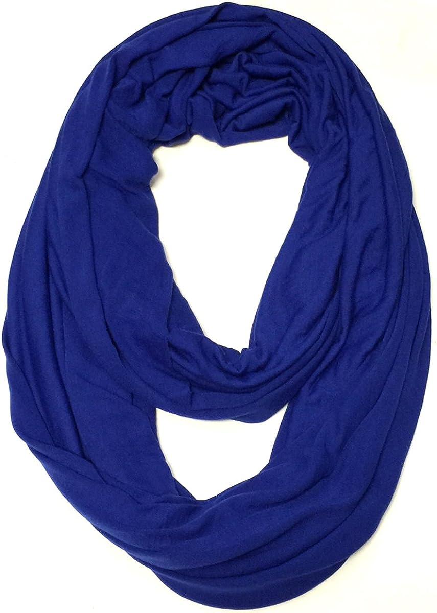 Wrapables Soft Jersey Knit Infinity Scarf