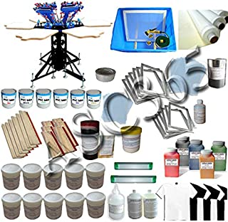 6-6 Color Screen Printing Kit with Materials Kit (006531)