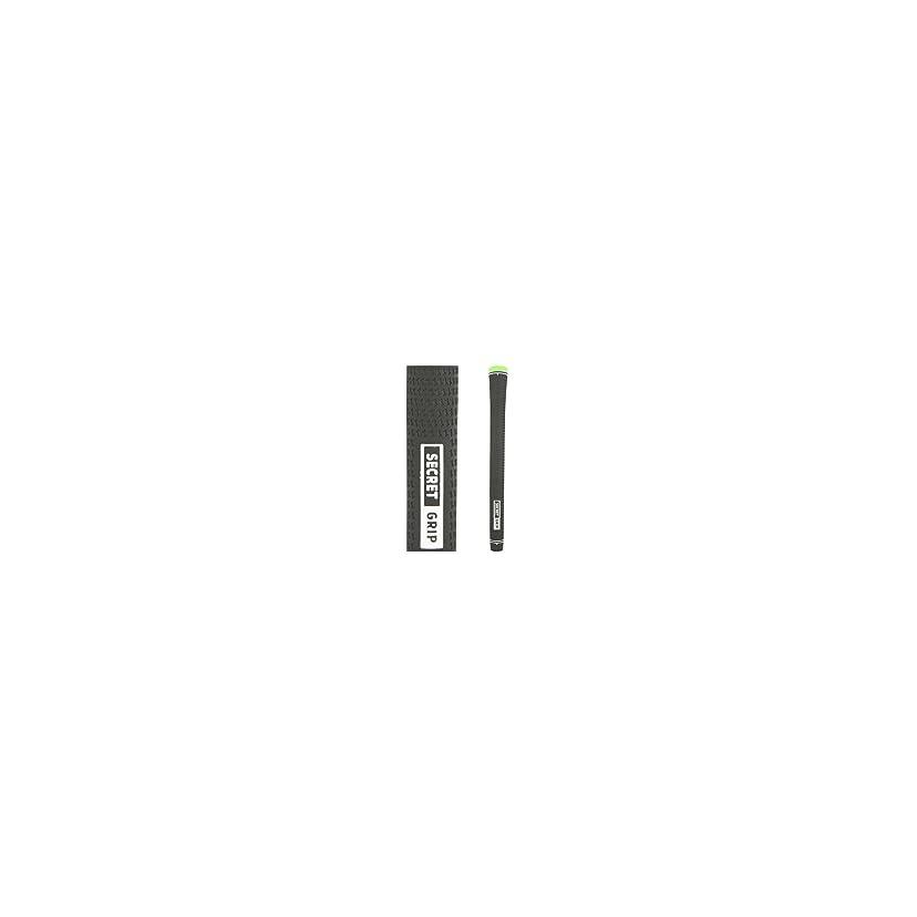 オート追加する南極ボッチェーり(Boccieri) シークレット スタンダード/ミッドサイズ ウッド&アイアン用グリップ【全5色】 (ブラック(ミッドサイズ))