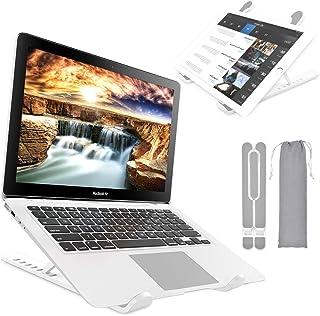Laptop Stand, Aluminum Computer Riser, Ergonomic Laptops Elevator for Desk, 7-Angles Adjustable Ventilated Notebook Stand,...