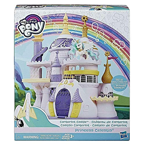 My Little Pony Canterlot Castle Playset with Princess Celestia with 3 Levels of Play