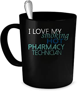 Pharmacy Technician Coffee Mug. Pharmacy Technician gift 11 oz. black