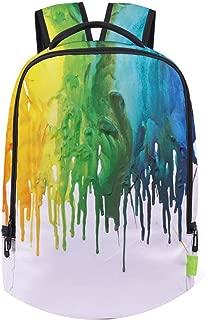 Women Men Graffiti Backpack 3D Galaxy Travel Satchel Rucksack Bagpack,M,