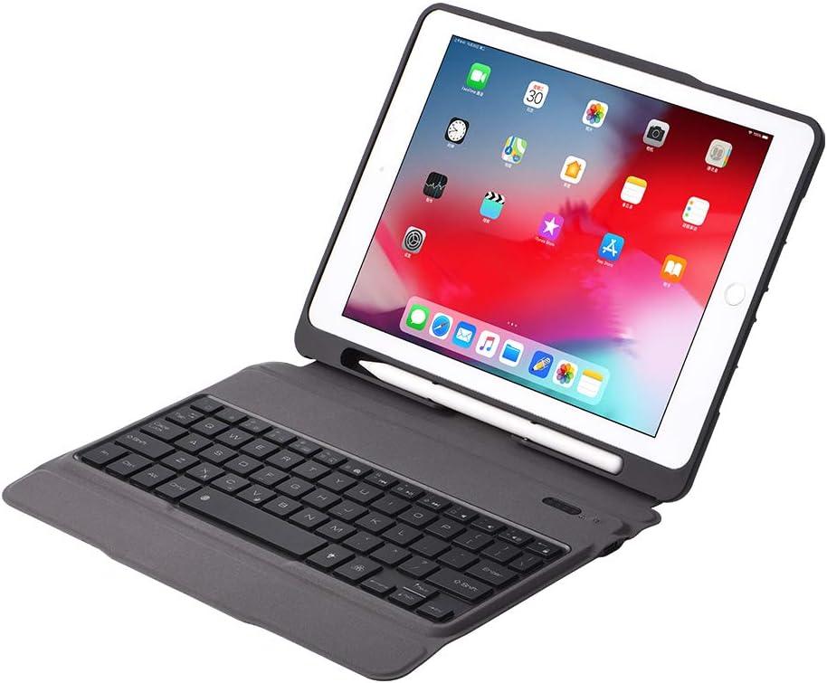 J&H - Funda con teclado retroiluminado para iPad Pro 9.7 (7 ...