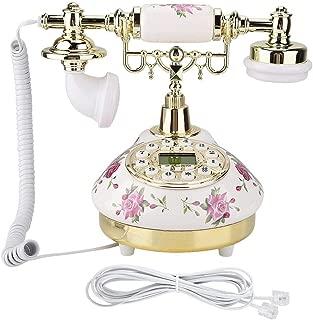 Yoidesu Vintage Antique Phone,European Antique Landline Telephone,Corded Retro Phone for Home Office Use