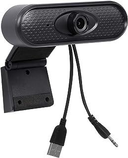 غطاء كاميرا الويب Full HD 1080P Webcam, USB PC Computer Camera, Video Webcam With No Microphone Driver, Used For Online Te...